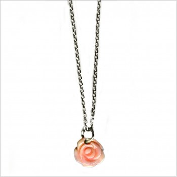The rose on chain