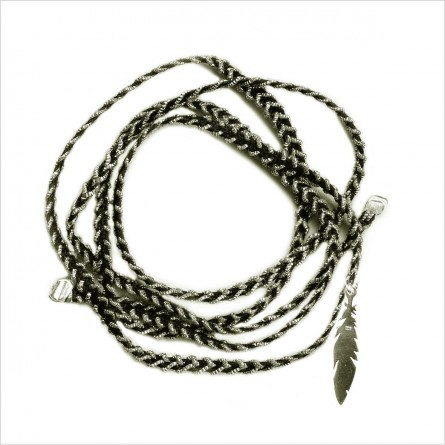 Cut braided feather