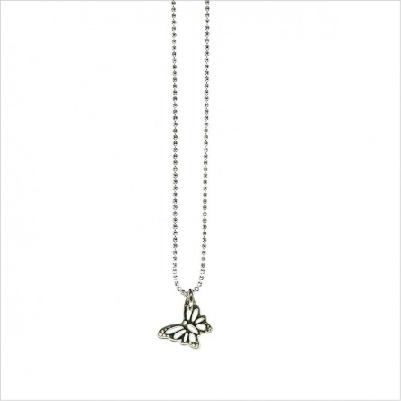 Mini butterfly on chain