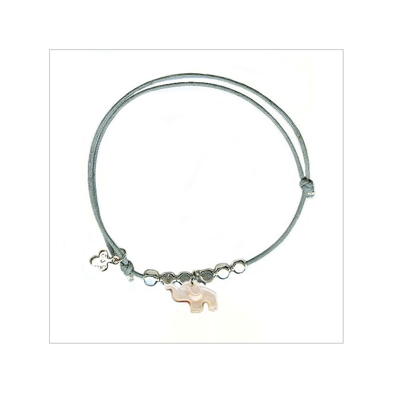 The elephant with bead on sliding link