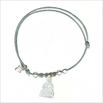 Buddha with bead in sliding link