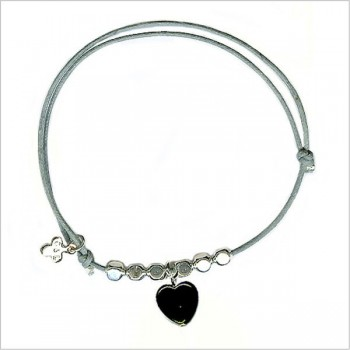 The heart with bead on sliding link