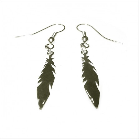 Feather Without Chain Earrings