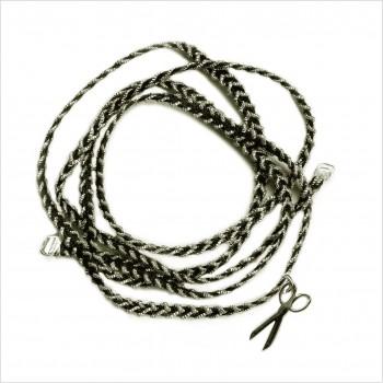 Cut and braided scissors