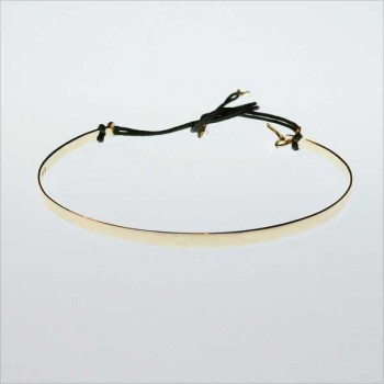 The flat knotted bangle without message