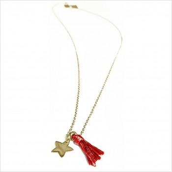 Minicharms étoile 1 pompon uni