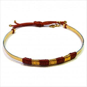 The ethnic flat bangle