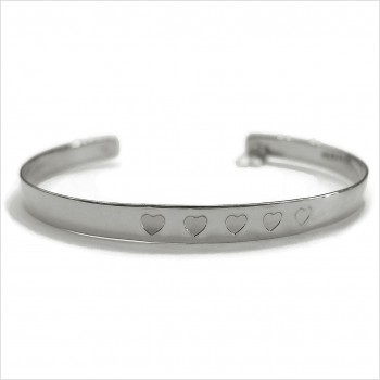The 5 hearts bangle
