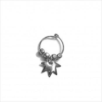 Stories earrings : Leaf