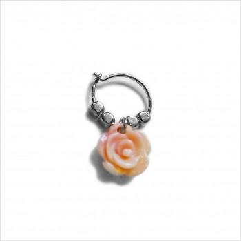 Stories earrings : Rose