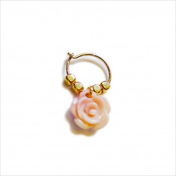 Stories earrings : Rose