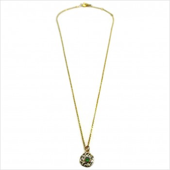 Hammered Delhi necklace