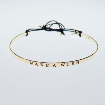 Make a wish flat bangle