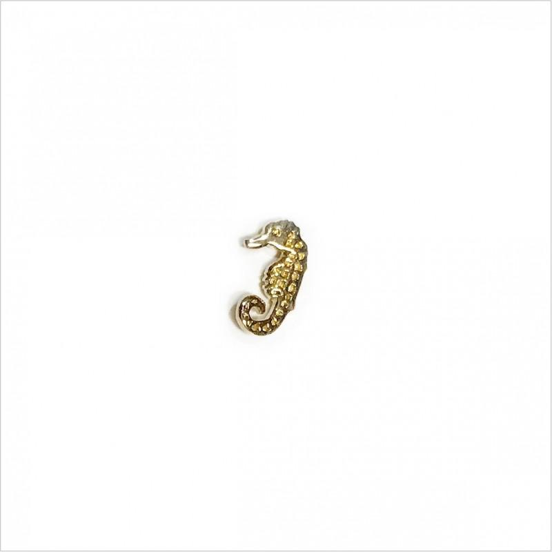 Hoop minicharms earrings with faceted pearls : Angel wing