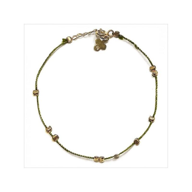Austral silk thread bracelet