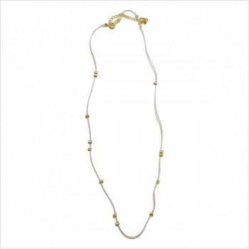 Austral silk thread necklace