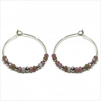 The Jaipur hoop earrings