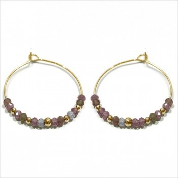 The Jaipur hoop earrings