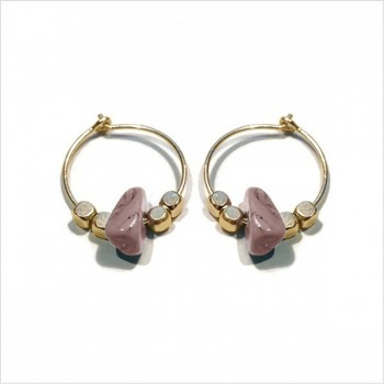 Beatnik earrings