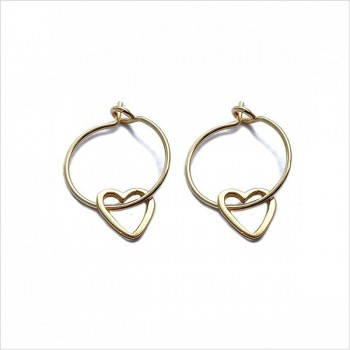 Heart Evidée earrings