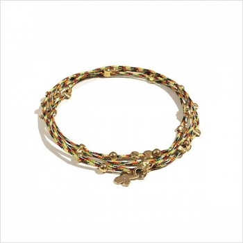 Austral silk thread bracelet