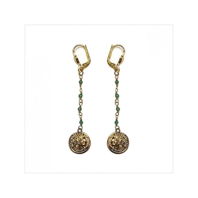 Pesos earrings