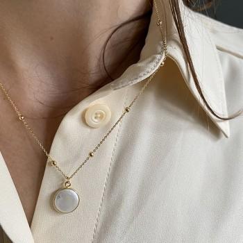 /él/égant irr/éguli/ère eau douce collier de perles et bracelet parure multicolore