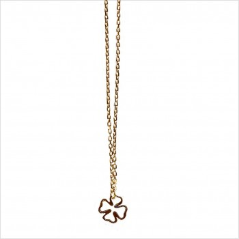 Hollow clover on chain