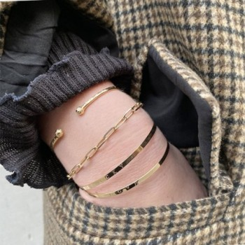 Jonc en plaqué or à personnaliser - gravure personnalisée - Bijoux personnalisable fantaisie