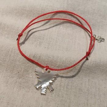 Bracelet nacre aigle val d'isère coulissant - Gag and lou - Bijoux de créateur intemporel