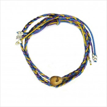 Brazilian Mini Skull in Bone Bracelet